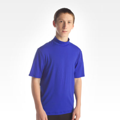 Performance Short Sleeve Crew Neck - Blue