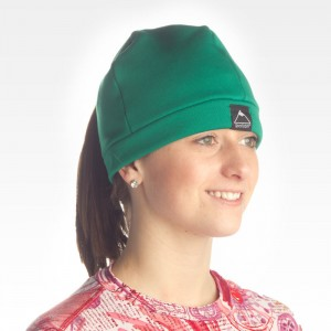 Unisex Fleece Hat with Pony Tail Hole