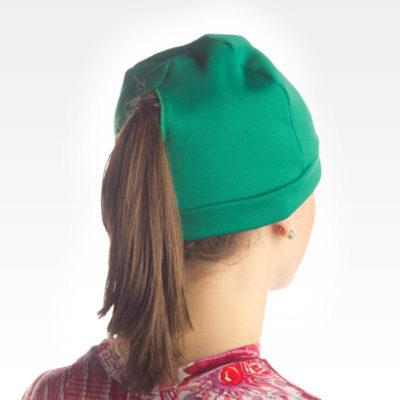 Unisex Fleece Hat with Pony Tail Hole - Reverse